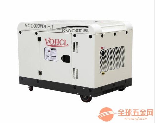 10千瓦柴油发电机满载油耗