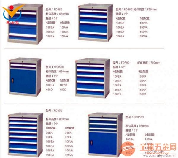 西安工具柜出厂价多少钱
