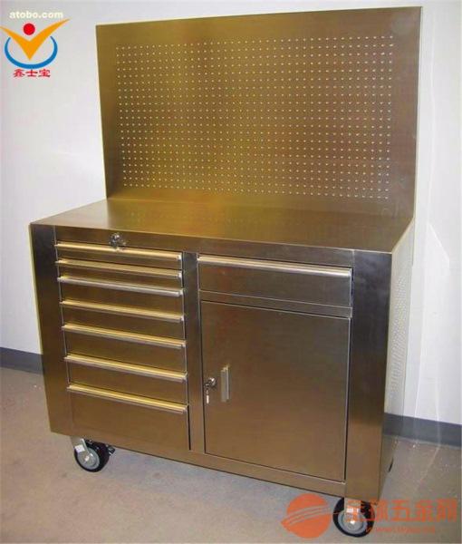 六盘水百叶挂板工具柜 带门带锁