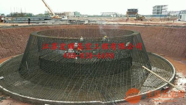 拆除加高砖烟囱施工