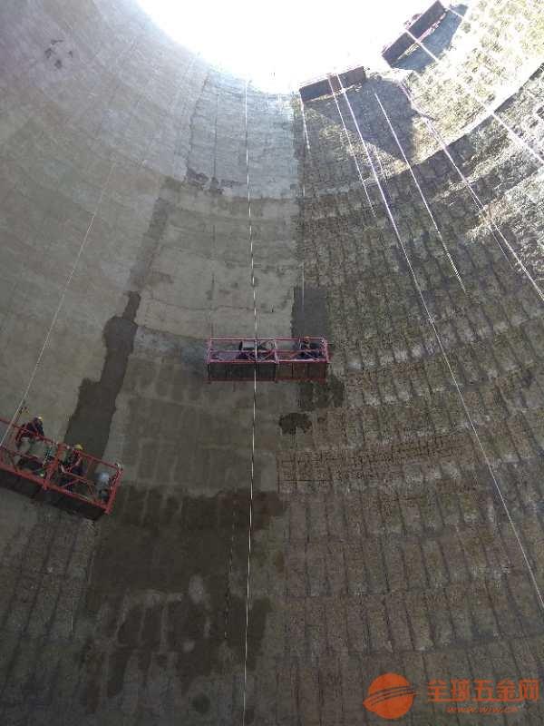 湘潭烟囱内壁脱硫防腐施工