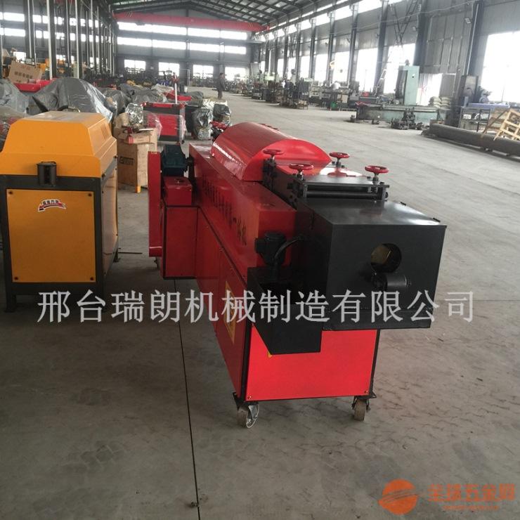 乌海厂价直销钢管调直除锈机