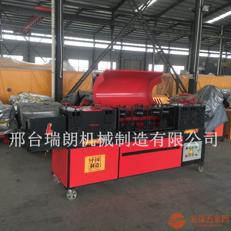潍坊重型钢管调直除锈喷漆机