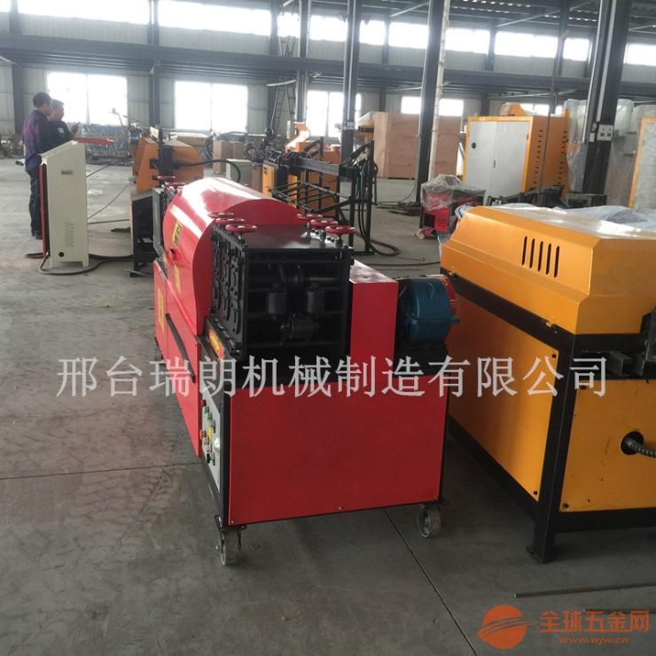 管材钢管翻新机采用30根除锈钢刷