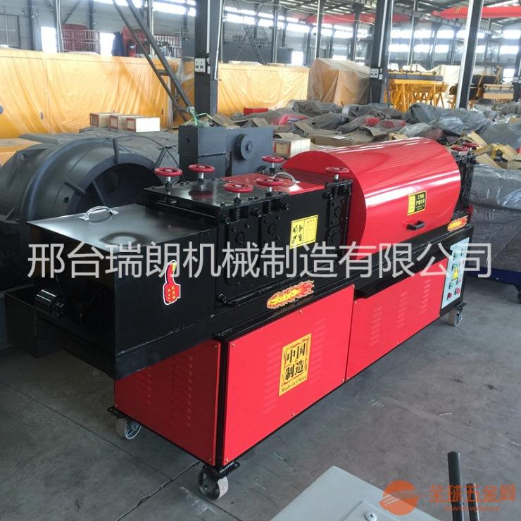 现货供应钢管调直除锈上漆一体机简单修复