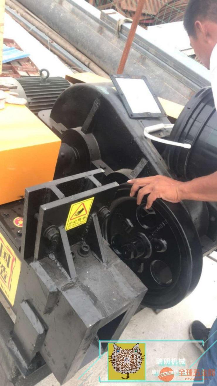 立式废旧钢筋切头机功能讲解・生产加工厂