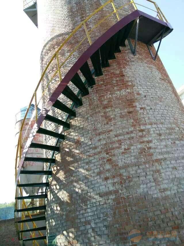 龙凤区砖瓦厂烟囱裂缝打包箍加固施工团队
