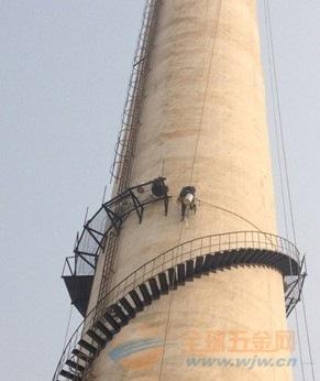 津市烟囱安装旋转爬梯公司