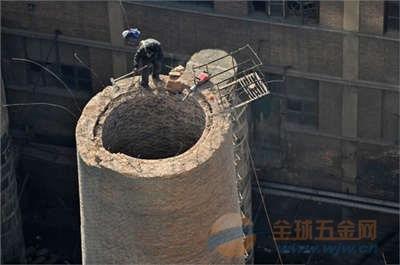 武穴水泥烟囱爬梯平台检修防腐联系方式