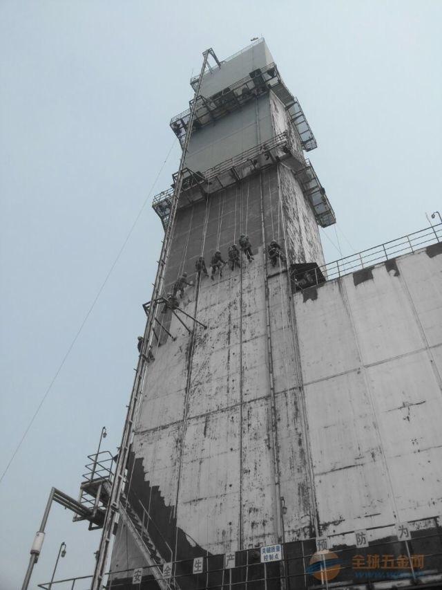 鲤城区烟囱刷红白航空标志漆服务厂家