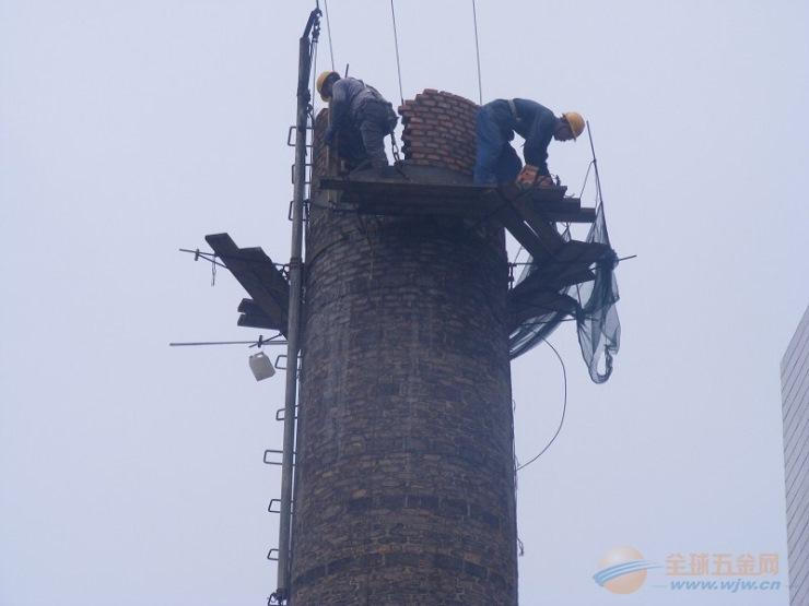 庆元县水泥烟囱更换爬梯护网平台公司欢迎访问