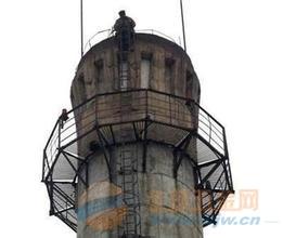 宁国电厂烟囱顶口云梯安装施工单位