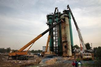 阿坝县废弃锅炉砖烟囱拆除公司欢迎访问