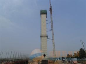 古浪县水泥烟囱更换爬梯护网平台公司欢迎访问