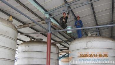溪湖区水泥烟囱更换爬梯护网平台公司欢迎访问