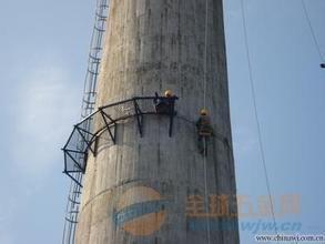 大祥区报废砼烟囱拆除公司除锈刷漆
