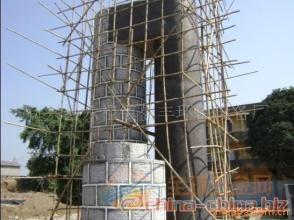 阿坝县烟囱爬梯平台护网防腐公司欢迎访问