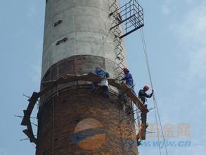 鄯善县砖瓦厂烟囱裂缝打包箍加固施工团队