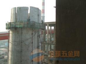 武威电厂烟囱旧色环翻新欢迎访问