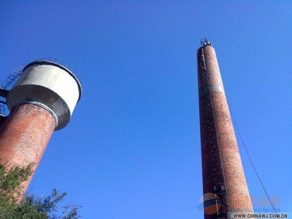 怀化废弃砖瓦厂轮窑烟囱整体放倒多少钱