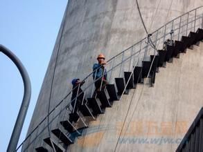 滨州烟囱旋转爬梯制作安装公司欢迎访问