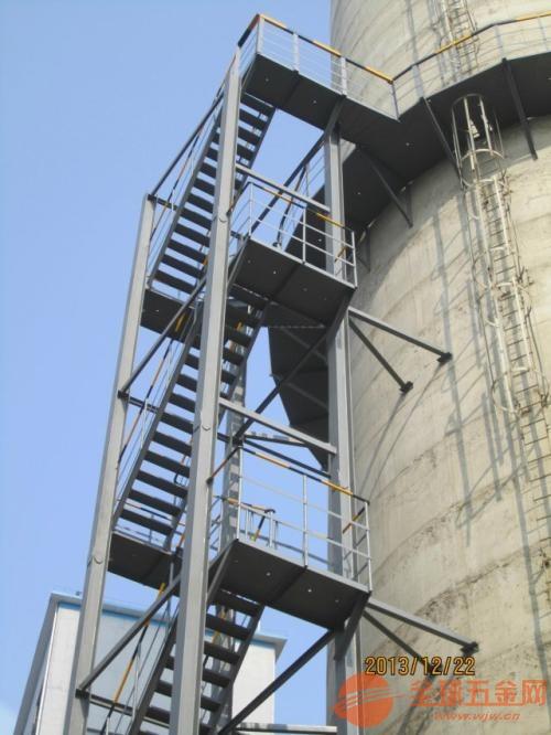烟囱爬梯平台拆除更换多少钱