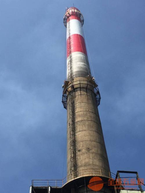 100米烟囱刷油漆 110米烟筒刷油漆 120米烟囱刷色环