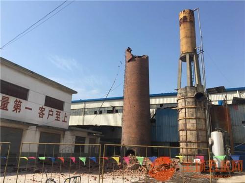 遂川县锅炉房烟囱拆除公司欢迎访问