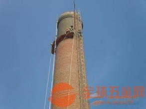 湖北烟囱安装旋转爬梯公司施工单位