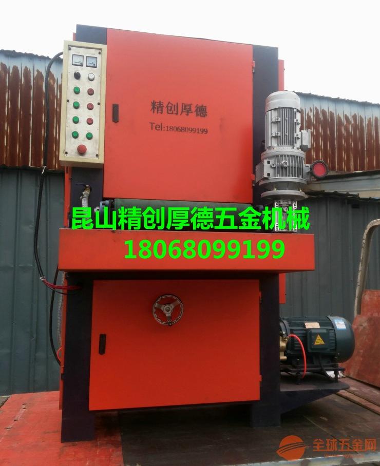 【苏州】板材拉丝机能快速地磨平刮痕及焊印