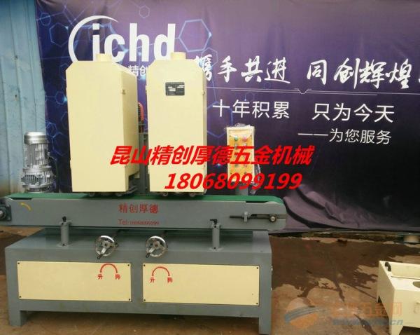 扬州3D 直纹拉丝机 数控升降 三磨头设计,出丝稳定