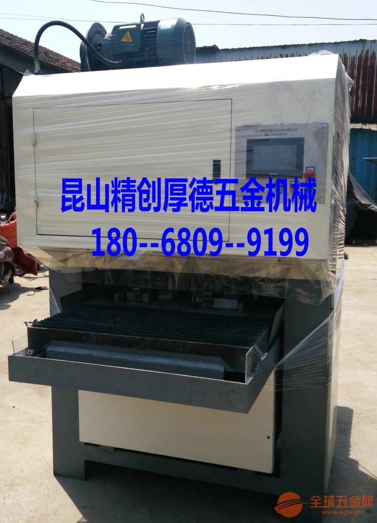 【杭州】板材拉絲機能快速地磨平刮痕及焊印