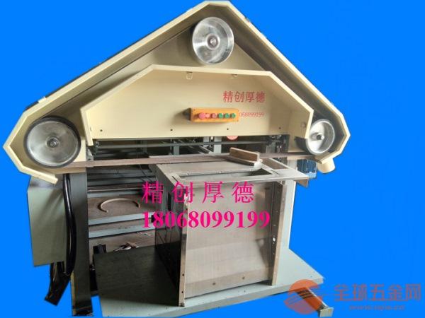 张浦精创三角拉丝机适合各种型号铝面板批量加工,纹路清