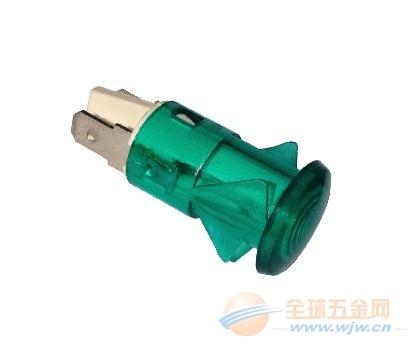 供应红色230V带电线带端子卡口电热水器指示灯