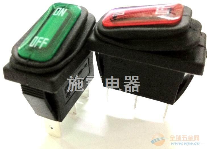 KCD1防水开关CE翘板开关IP65开关,,可带灯