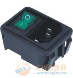 施霸厂家RL10-1系列带按键开关电源插头,安全保障