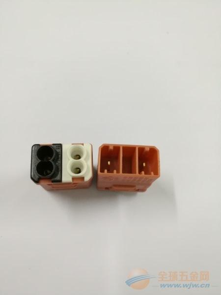 SIBER供应CN-02连接器,UL对接端子两位对接端子