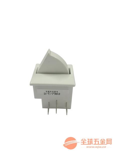 厂家供应 冰箱门开关 优质门控开关 SB177白色按钮开关