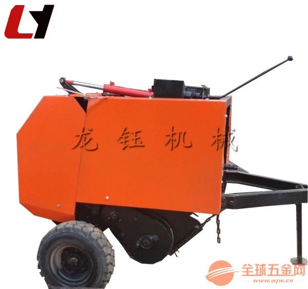 高产量牧草秸秆打捆机 多功能行走式稻草打捆机