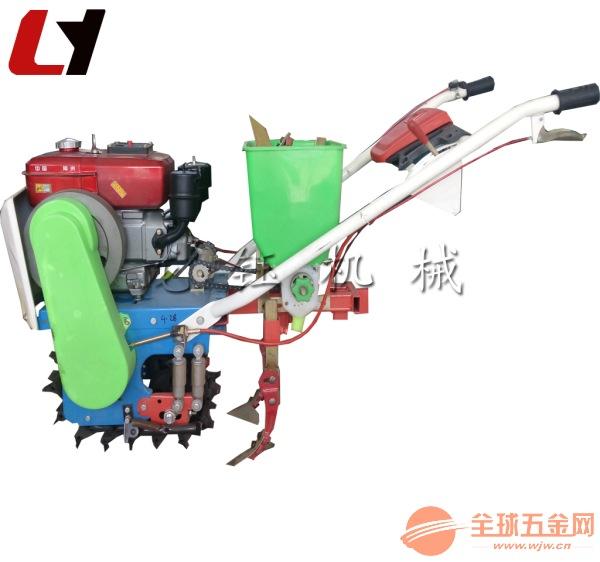 龙钰机械花生播种施肥机 油菜汽油播种机供应
