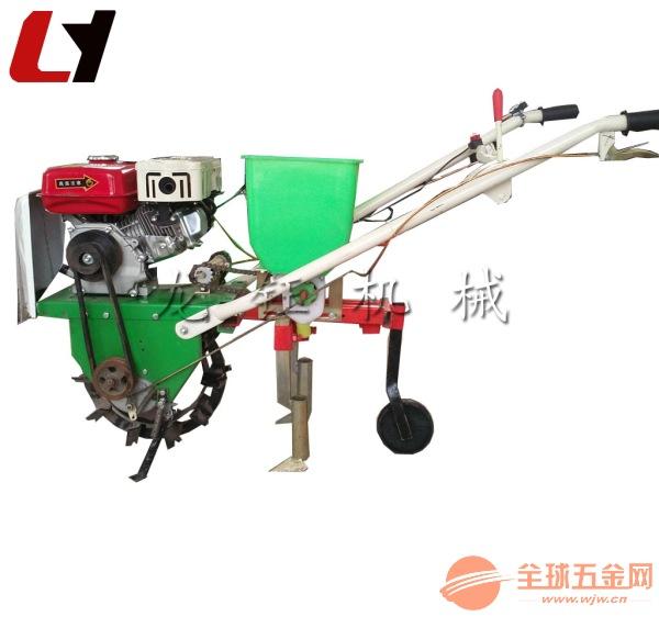 新款單行玉米黃豆播種機 玉米施肥播種機