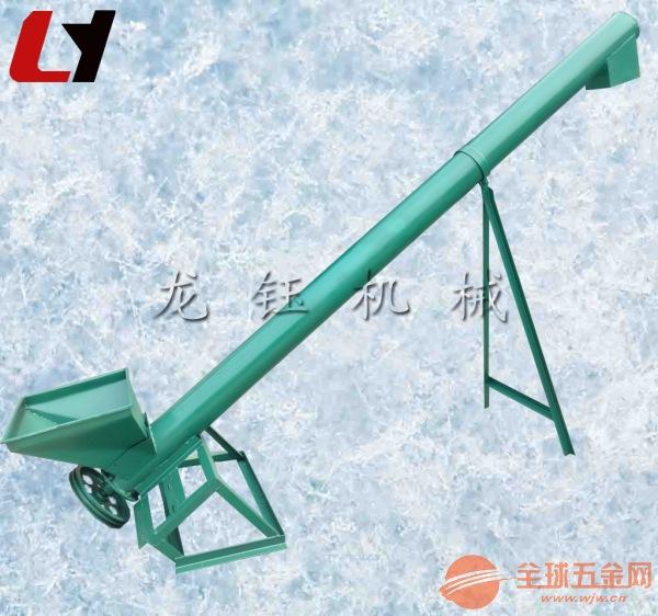 圆管提升机报价 多功能物料提升机 螺旋式上料机
