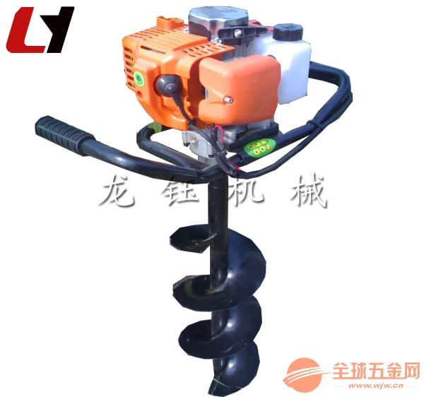 植樹挖坑機械型號單人手提式鉆孔機