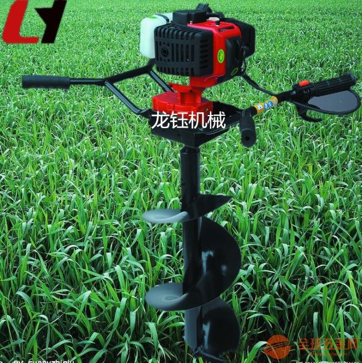 汽钻挖坑机型号 多功能手提挖坑机报价