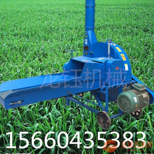 苜蓿铡草机 中型鲜玉米秸秆切碎机麦秆切草机