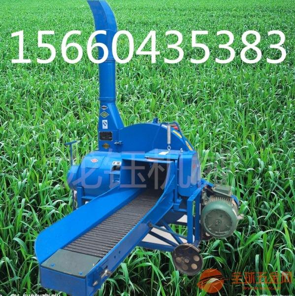 小型铡草机 刀辊切草机视频多功能秸秆铡草机