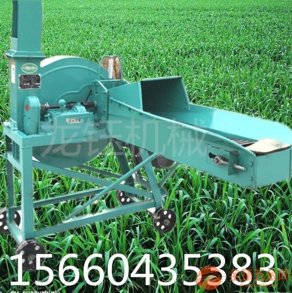 玉米鍘草機柴油機帶動的鍘草機