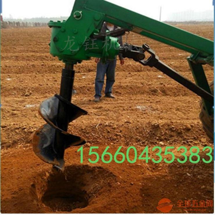 栽树用挖坑机 挖坑机植树机手提挖坑机拖拉机挖坑机