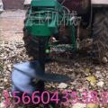 新款后置式挖坑机 高效植树挖坑机械