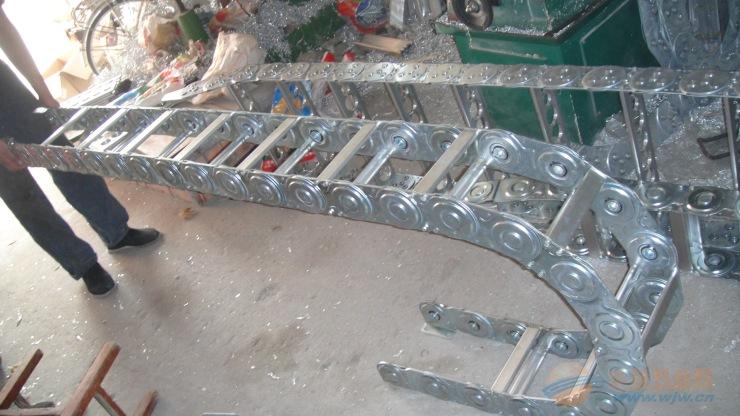 供应 武汉市 电缆拖链 钢制穿线拖链 大量现货
